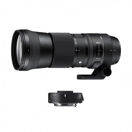 Contemporary   150-600mm F5-6.3 DG OS HSM + TC-1401 pour Nikon