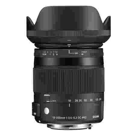 18-200mm F3.5-6.3 DC MACRO OS HSM | Contemporary