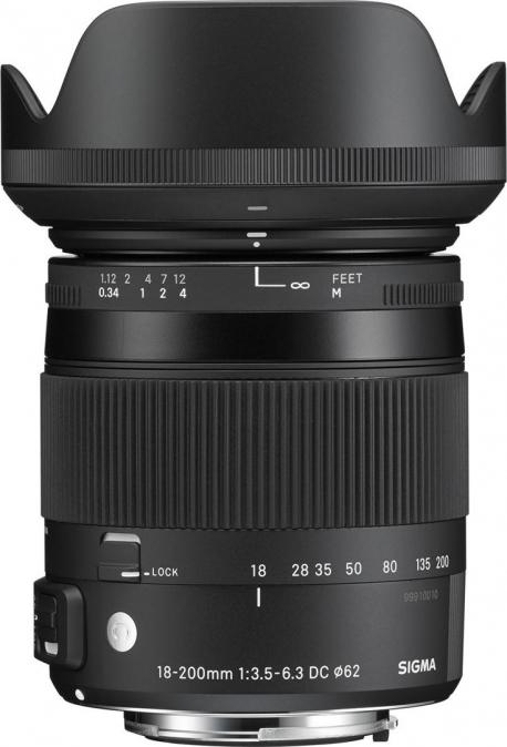 18-200mm F3.5-6.3 DC MACRO OS HSM | Contemporary