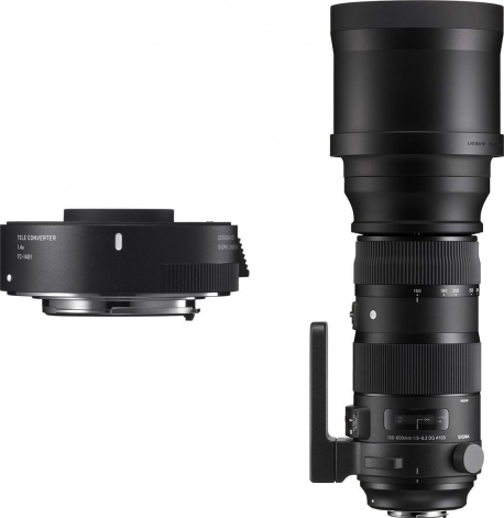 150-600mm F5-6.3 DG OS HSM | Sports + TC-1401