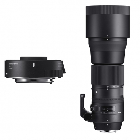 150-600mm F5-6.3 DG OS HSM | Contemporary + TC-1401