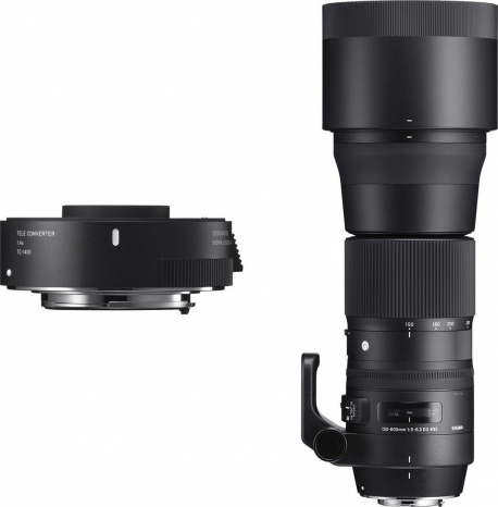 150-600mm F5-6.3 DG OS HSM | Contemporary + TC-1401