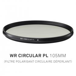 Filtre Polarisant circulaire déperlant 105mm