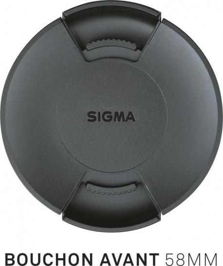Bouchon avant d'objectif diamètre 58mm