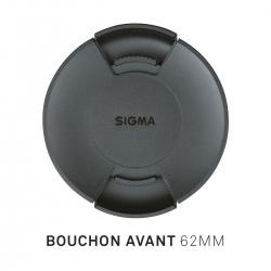 Bouchon avant d'objectif diamètre 62mm
