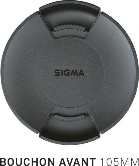 Bouchon avant d'objectif diamètre 105mm