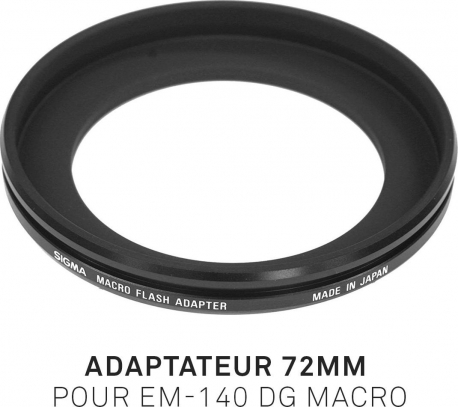 Adaptateur 72mm pour EM-140 DG MACRO