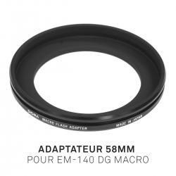 Adaptateur 58mm pour EM-140 DG MACRO