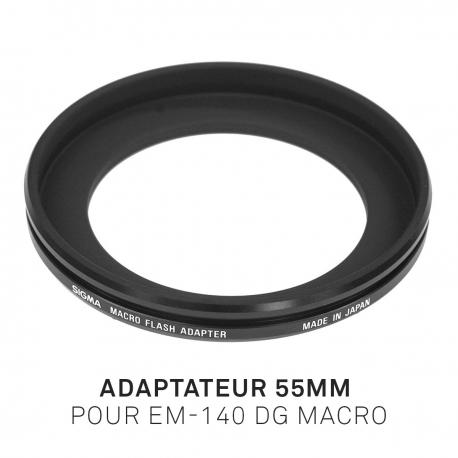 Adaptateur 55mm pour EM-140 DG MACRO