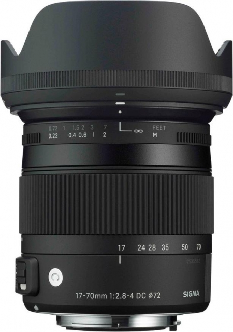 17-70mm F2.8-4 DC MACRO OS HSM |Contemporary