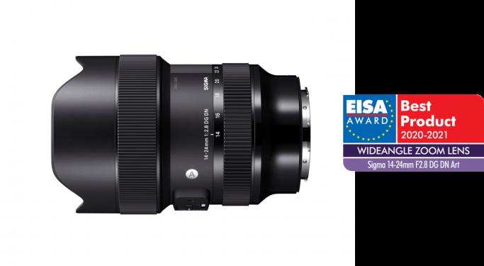 Un prix EISA pour le grand-angle pour hybride plein-format 14-24mm DG DN Art
