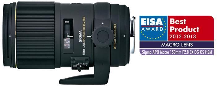 Le 150mm F2.8 EX DG OS HSM récompensé par le prix EISA 2012