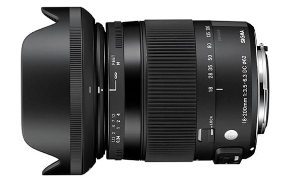 CONTEMPORARY | 18-200mm F3.5-6.3 DC...</p></li><li> <span class=
