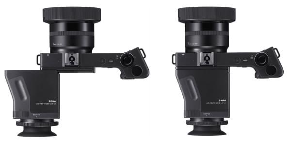 Nouveau dp1 Quattro équipé du viseur LCD LVF-01