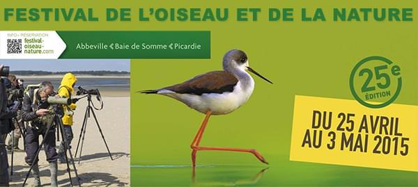 Festival de l'oiseau et de la nature 2015