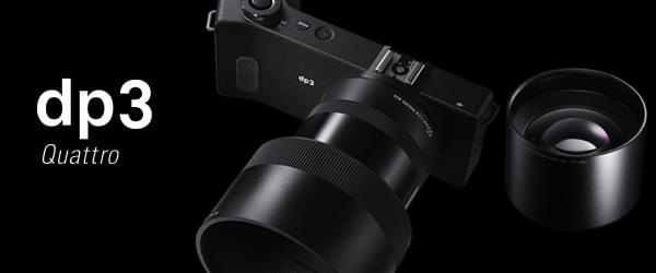 Le nouveau dp3 Quattro et son convertisseur optique 90mm optionnel