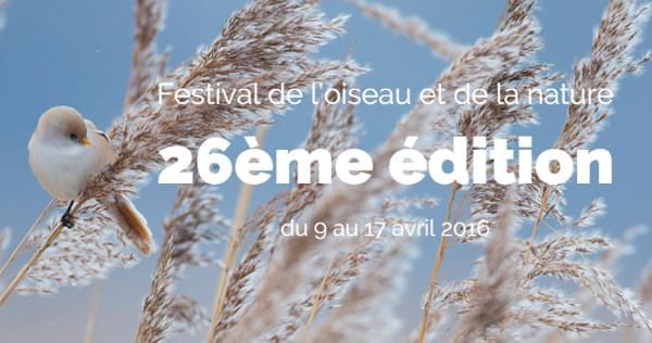 Festival de l'oiseau et de la nature 2016