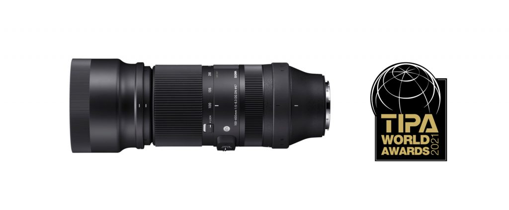 SIGMA 100-400 pour hybrides Sony et L-Mount