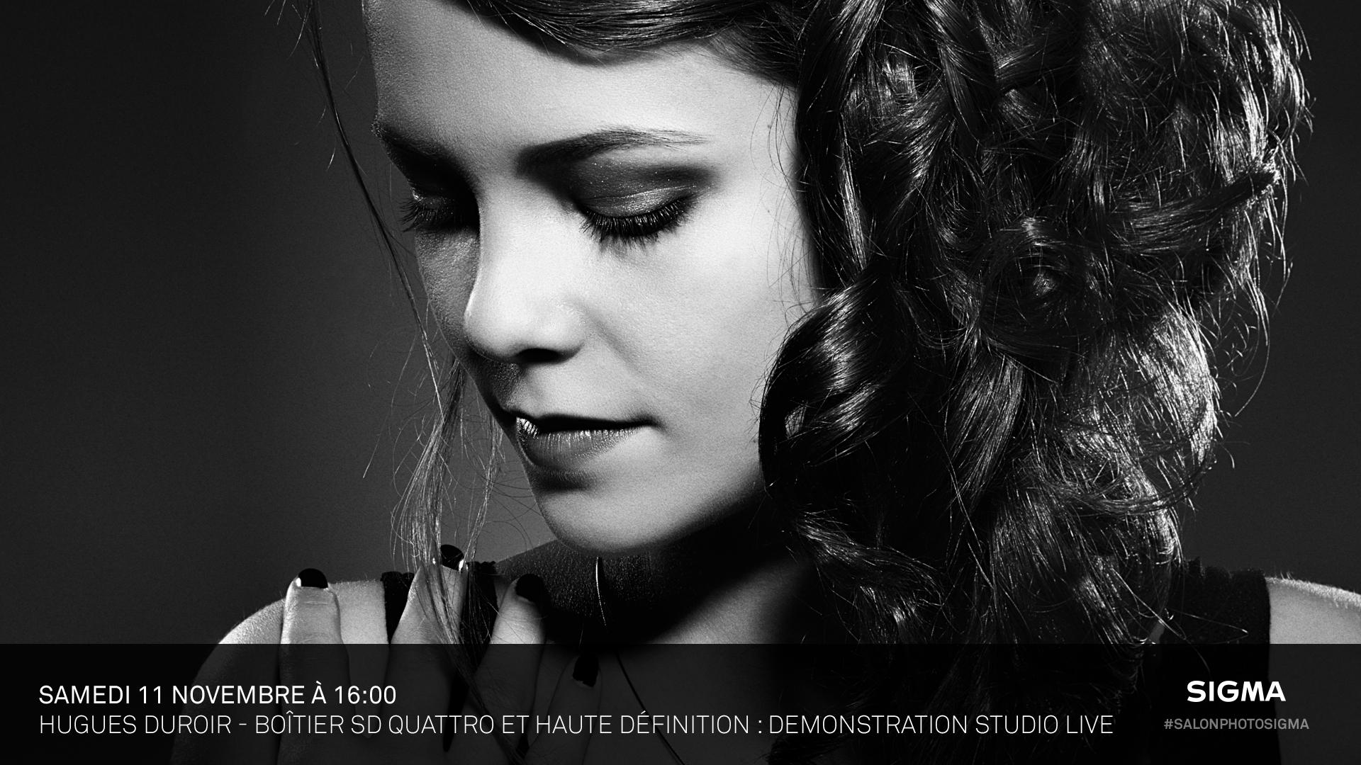 Hugues Duroir - Accédez à la très haute définition en studio avec le sd Quattro (Prise de vue Live)
