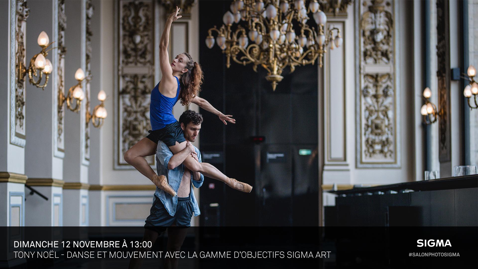 Tony Noël - Danse & Mouvements avec les objectifs Art