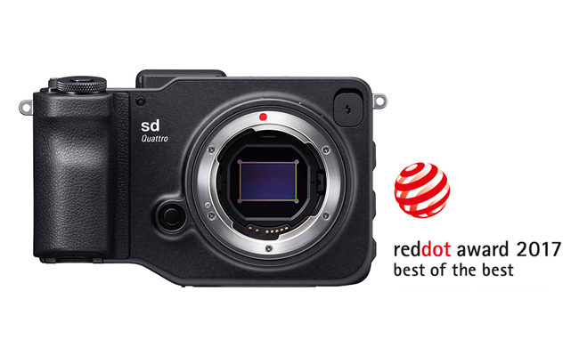 Red dot award 2017 : SIGMA sd Quattro
