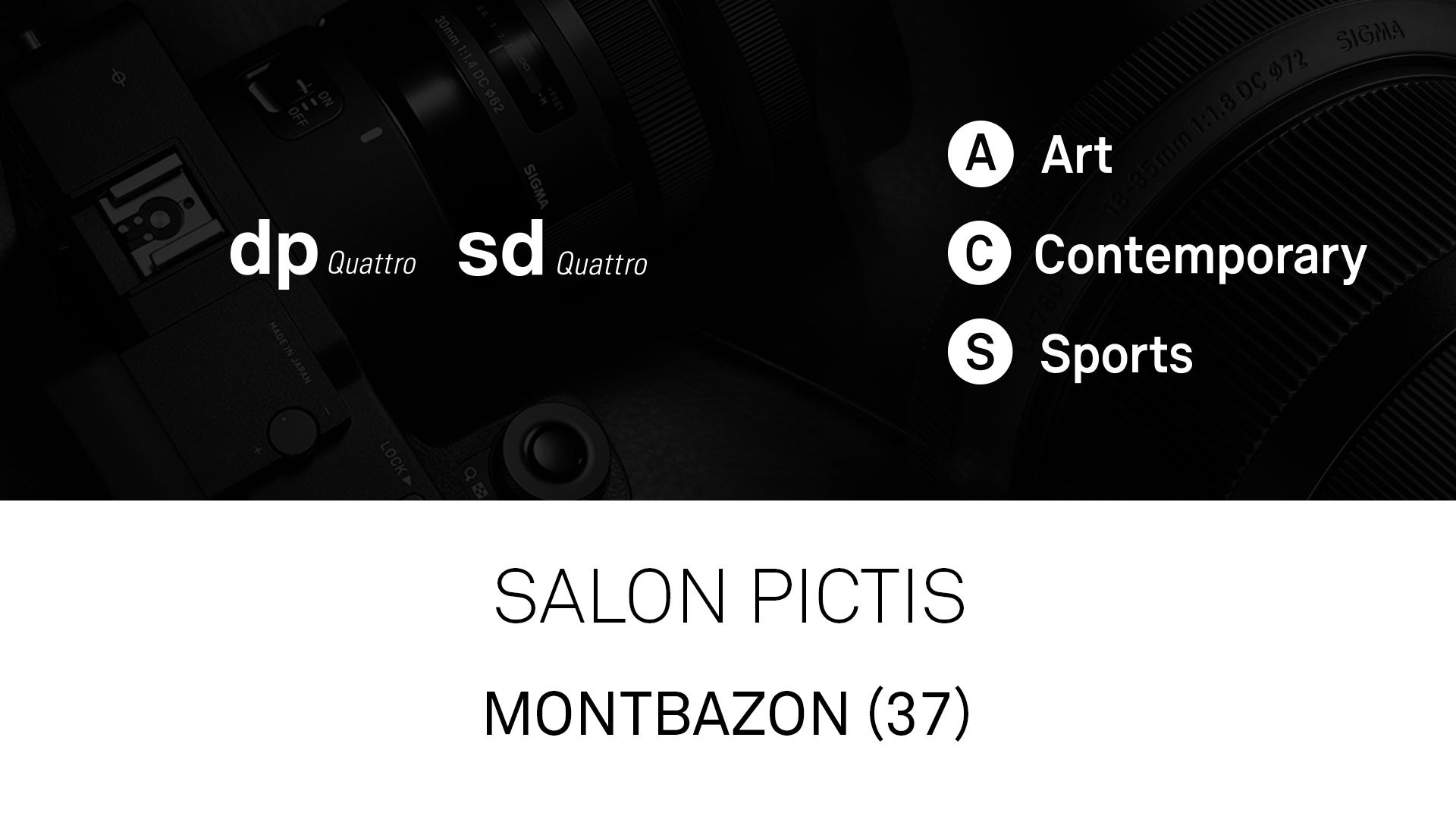 Objectifs et boîtiers SIGMA au Salon Pictis