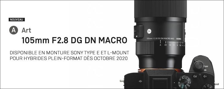 Nouveau 105mm F2.8 DG DN MACRO | Art