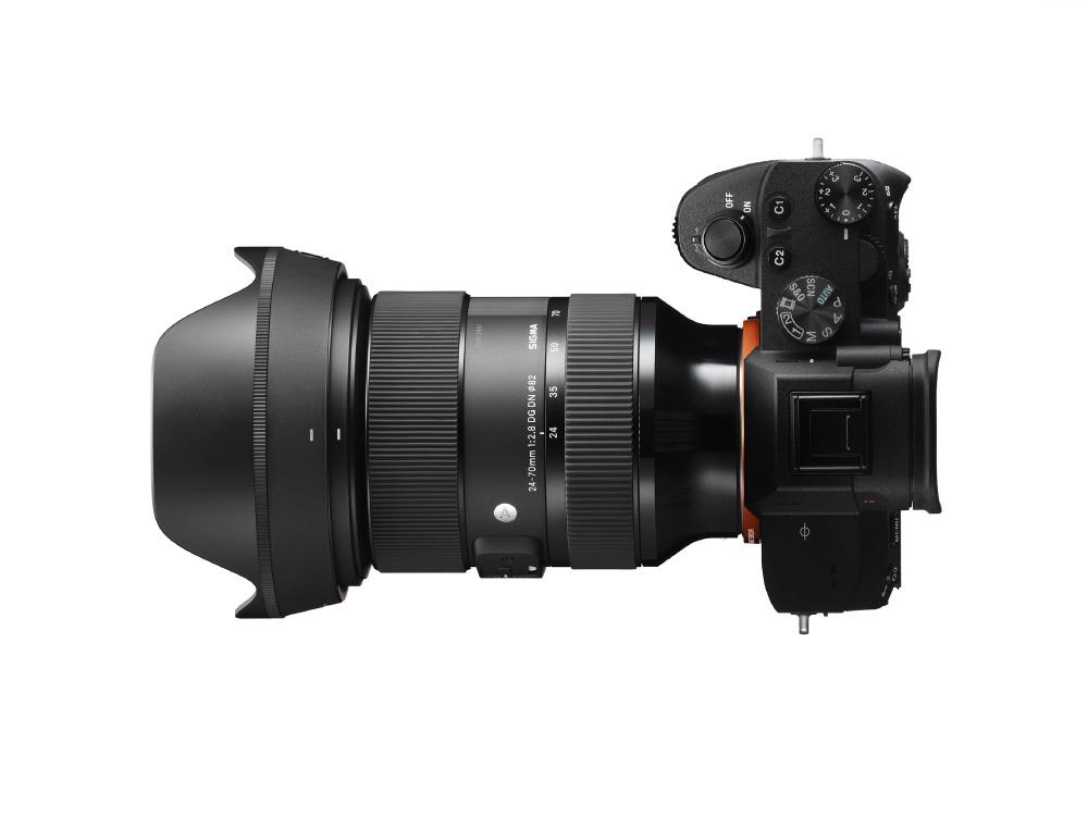 SIGMA 24-70mm F2.8 DN | Art pour hybrides plein format Sony Alpha et boîtiers L-mount