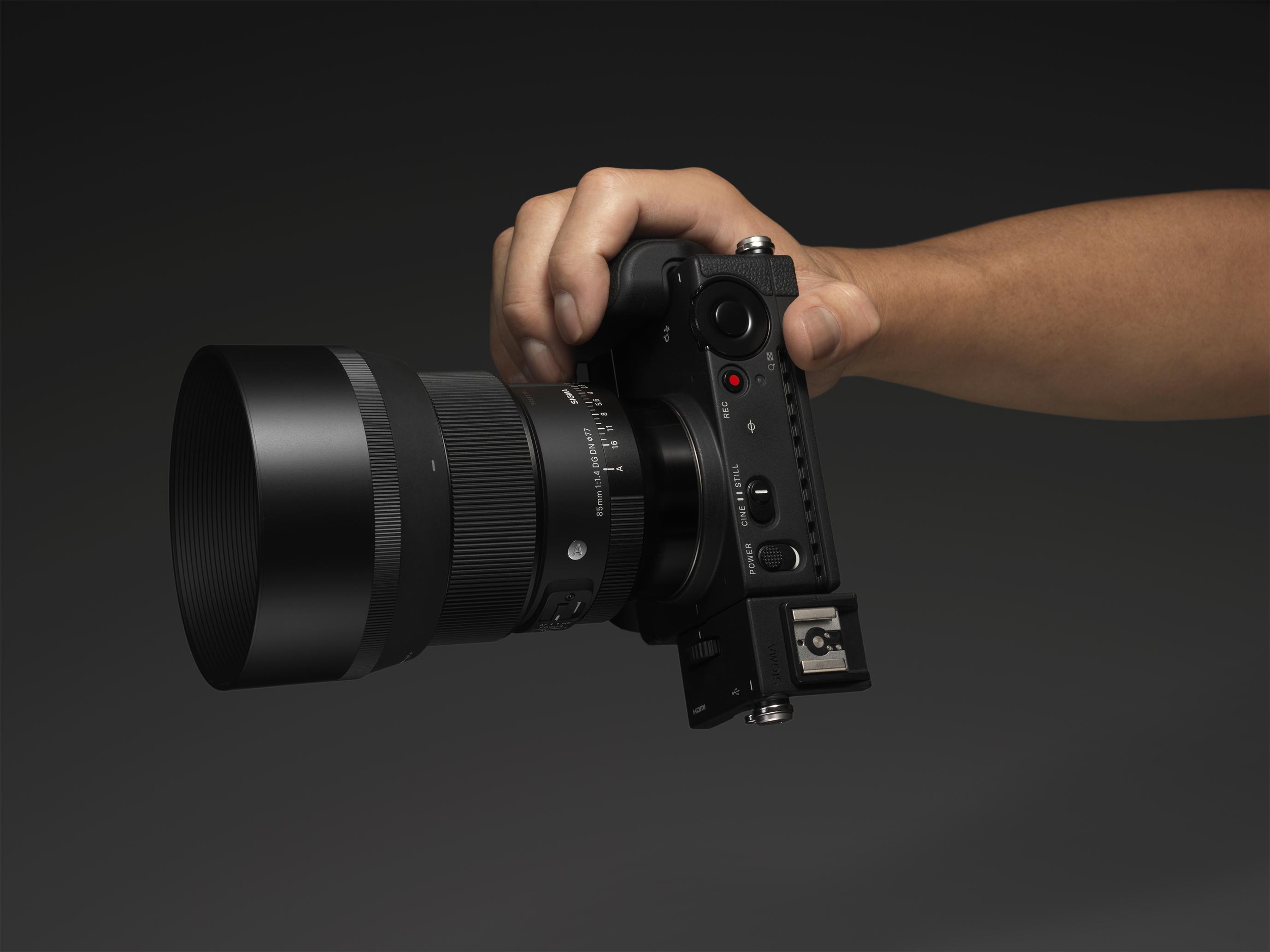 Un 85mm F1.4 lumineux et compact pour votre hybride plein-format