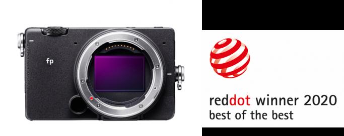 Prix Red Dot pour le SIGMA fp