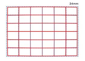 Distorsion position téléobjectif 24-35mm F2 DG HSM | Art