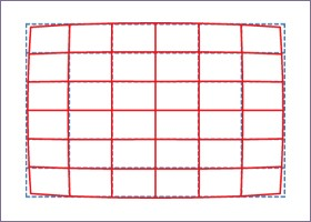 Distorsion position téléobjectif 8-16mm F4.5-5.6 DC HSM