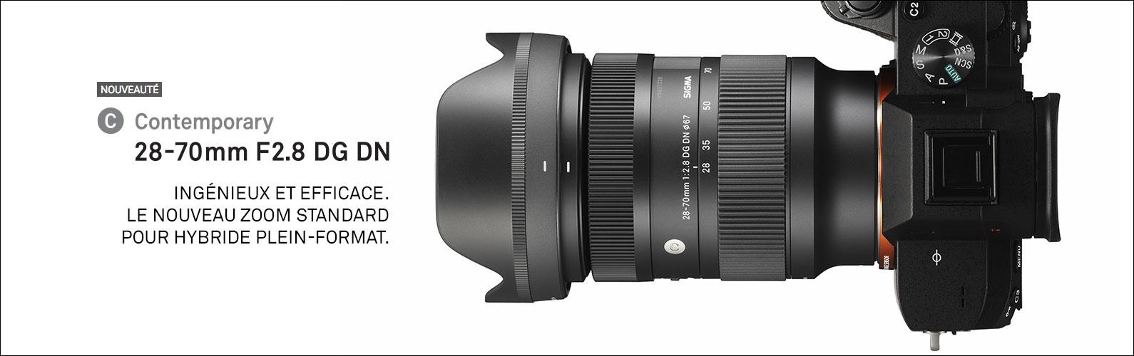 Nouveau 28-70mm F2.8 DG DN | Contemporary pour hybride plein-format