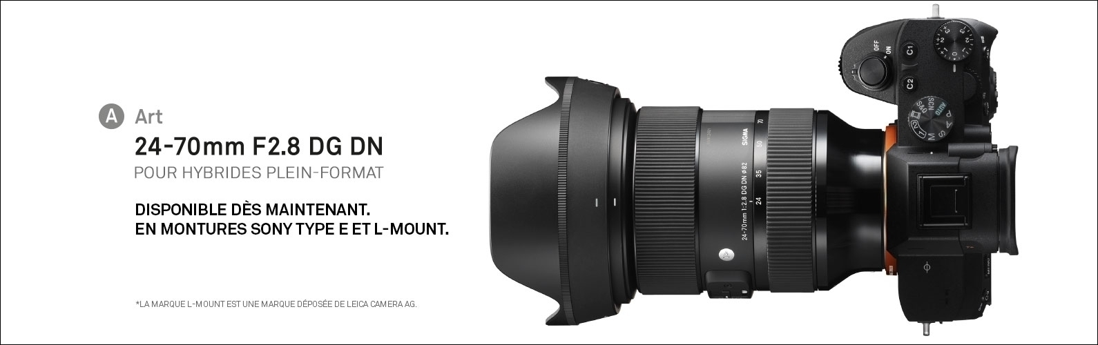 Objectif photo 24-70mm F2.8 DG DN