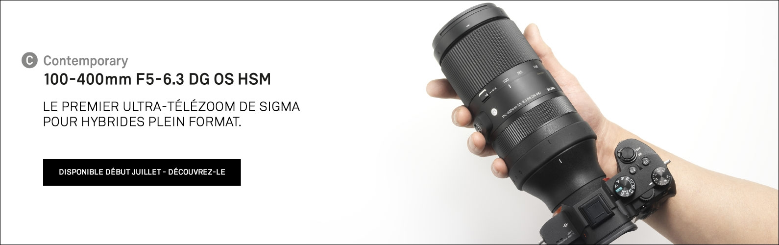 SIGMA 100-400mm F5-6.3 DG DN OS Le premier ultra-télézoom de SIGMA pour hybrides Plein Format.